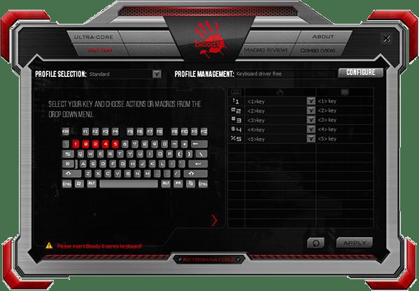 KeyDominator 2(キーボード)ソフトウェア