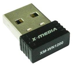 デバイスモデル:X-MEDIA XM-WN1200